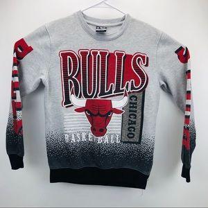 Chicago Bulls NBA Graphic Sweatshirt Unisex Small